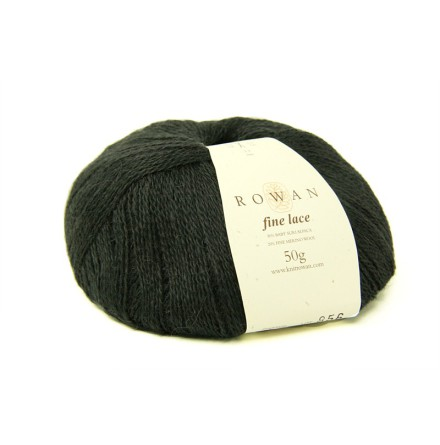 Rowan - Fine Lace, Charcoal Grey 929