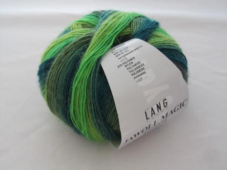 Jawoll Magic Degrade, nr. 17, gröna toner