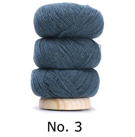 Geilsk Tunn Ull blå 3