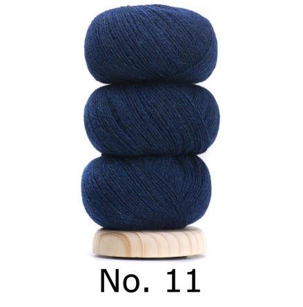 Geilsk Tunn Ull blå 11