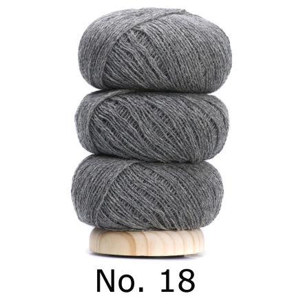 Geilsk Tunn Ull grå 18