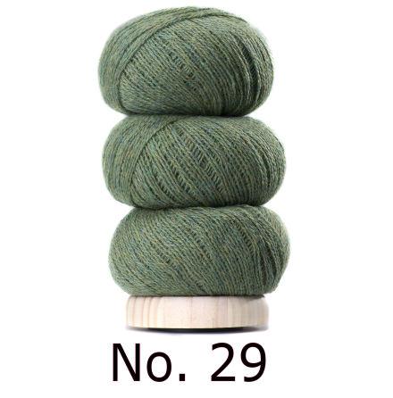 Geilsk Tunn Ull grön 29