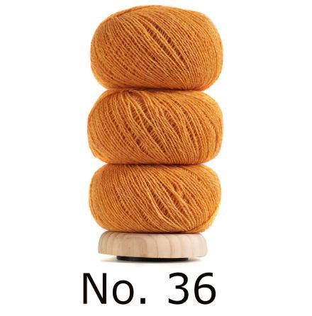 Geilsk Tunn Ull apelsingul 36