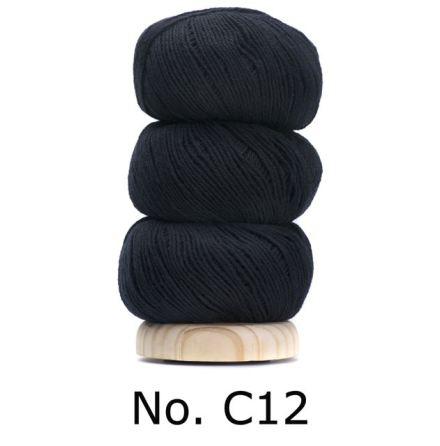 Geilsk Bomull & Ull, svart 12