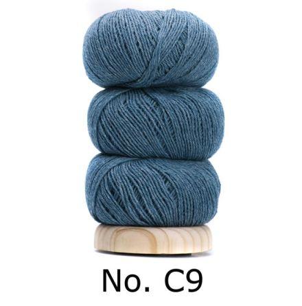 Geilsk Bomull & Ull, jeansblå 9