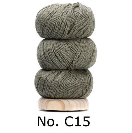 Geilsk Bomull & Ull, Gröngrå 15