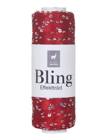 Bling Glittertråd, Röd 3003