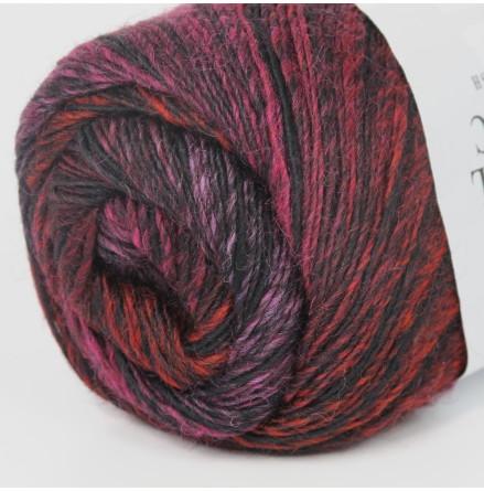 Jawoll Magic Lila/röd/svart, randig nr. 65