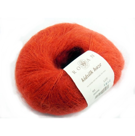 Rowans Kidsilk Haze 596 Orange