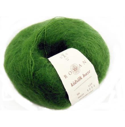 Rowans Kidsilk Haze 629 Mossgrön
