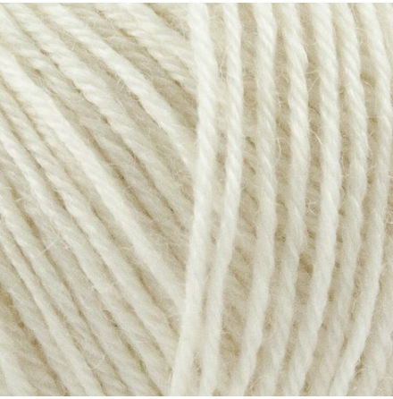 Onion Nettle Sock Yarn, nr. 1001, Naturvit