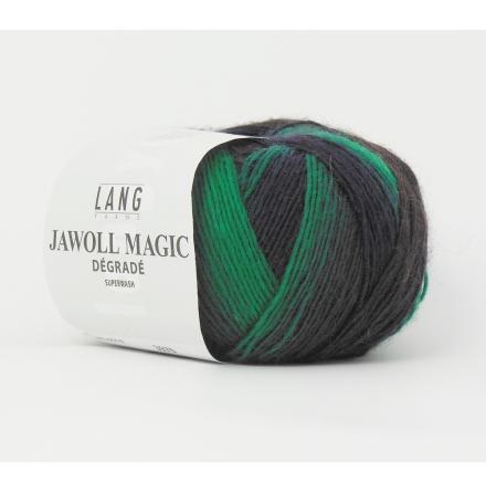 Jawoll Magic Degrade, nr 16 grön, vinröd, brun, grå nyanser