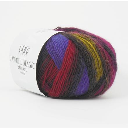 Jawoll Magic Degrade, nr 52 lila, rött, senap, brunt...