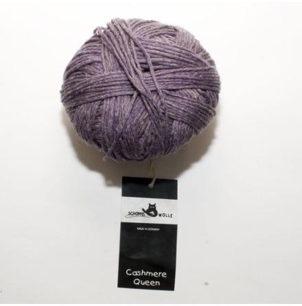 Schoppel Wolle garn Cashmere Queen, Lila 2965