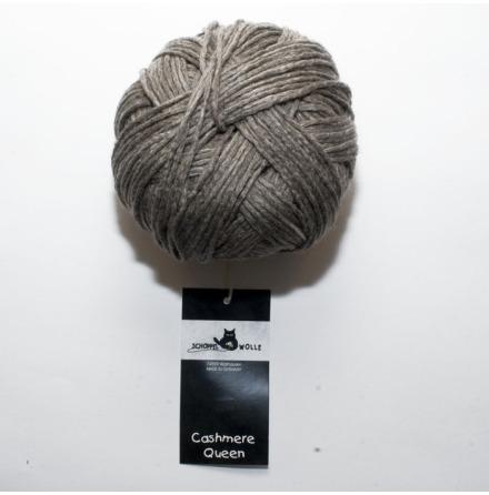 Schoppel Wolle garn Cashmere Queen, Naturbrun 7873