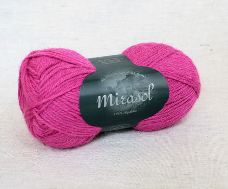 Du Store Alpakka - Mirasol Färg 2017